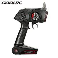 Original GoolRC TG3 2 4GHz 3CH Digital Radio Remote Control Transmitter With Receiver For RC Car