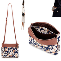 Cute Lovely flower leaf Jewelry Organizers Cosmetics Bags Travel Trip Accessories acrylic makeup storage make up box