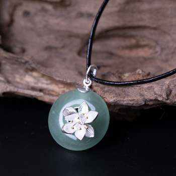 Jade Natural Stone Necklace5