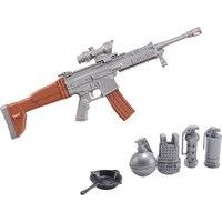 Children's Toys DIY Pistol Model Eat Chicken Gun Model Assembled AK Building Guns Educational Toys Boys Birthday Gifts CJ03