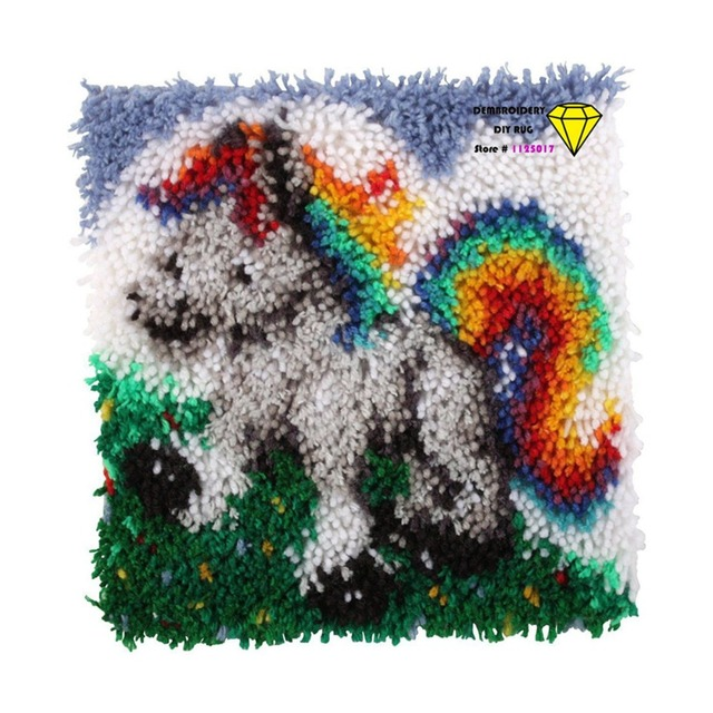 Handmade Carpet Horse Carpets And Rugs Needlework Kitchen Mats Rug Patchwork Embroidery Floor