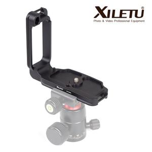Image 2 - XILETU LB D850L Professional L Type Quick Release Plate Fast Loading Bracket Hand Grip For Nikon D850 Meet Arca Swiss Standard