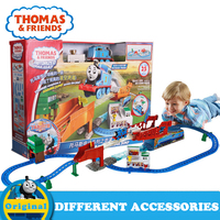 Anime Educational Thomas and Friends Diecast Mini Rail Toy Train Track Brinquedos DFL93 Percy For Children Birthday Gift