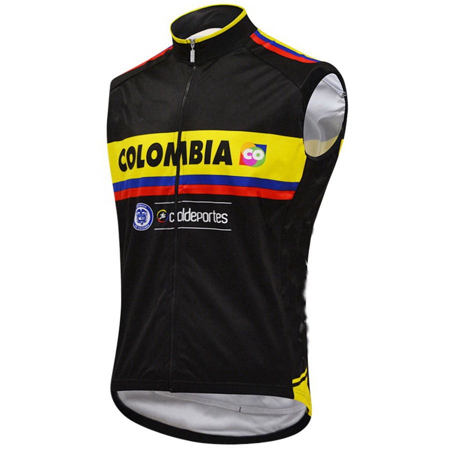 d81c781ed4b 2015 COLOMBIA TEAM Spring Summer Sleeveless Cycling Jacket Vest Gilet Mtb  Clothing Bicycle Maillot Ciclismo Bike Clothes-in Cycling Vest from Sports  ...