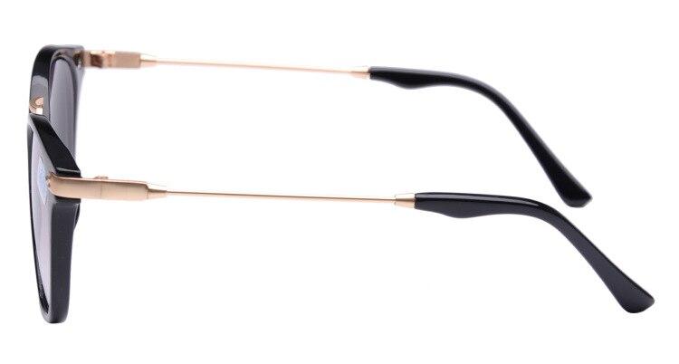 Image 2 - OHMIDA Unisex Myopia Sunglasses Metal Legs Men Student Diopter Myopia Glasses Women  1.00  1.50  2.00  2.50  3.00  3.50  4.00-in Mens Eyewear Frames from Apparel Accessories on AliExpress