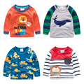 boy long sleeve T-shirt 2017 children clothing new cartoon - children long T spring baby T-shirt