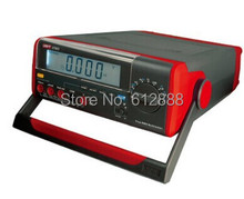 UNI-T UT803 UT-803 Bench Top Digital Multimeter Volt Amp Ohm Capacitance Temp Tester