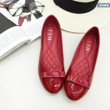 Hot!!!2016 new women's shoes Korean flat bow with bow shallow round soft bottom flat shoes, free shipping!