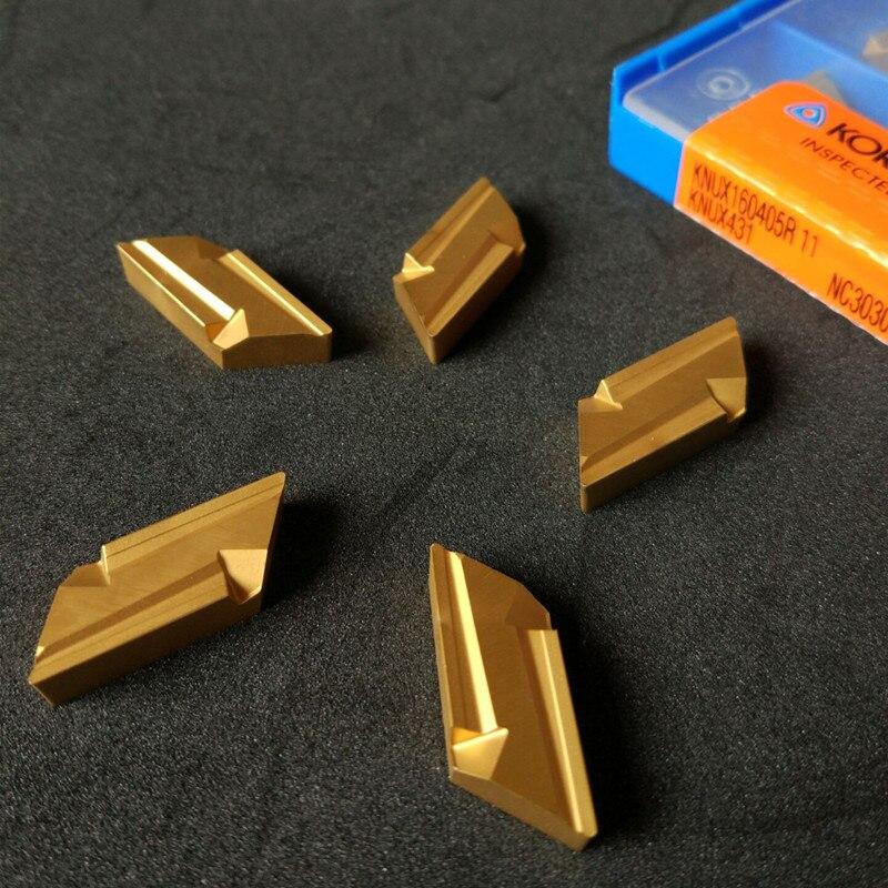 KNUX 160405 substituted KORLOY CUTTING TOOL KNUX160405R-11 NC3030 inserts STEEL TURNING TOOL KNUX160405R KNUX160405L