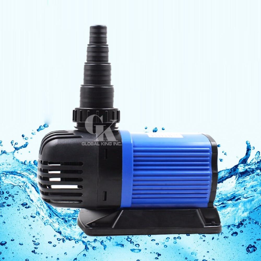 все цены на 220V, 8000LPH Variable Frequency Submersible Pump 70W Aquarium Fish Tank Powerhead Fountain Water Hydroponic онлайн