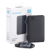 WD External Hard Drive Hard Disk HDD 2.5 HD 500GB 1TB 2TB 3TB 4TB HDD 500 GB 1 TB 2 TB 3 TB TO USB Portable External Hard Drive
