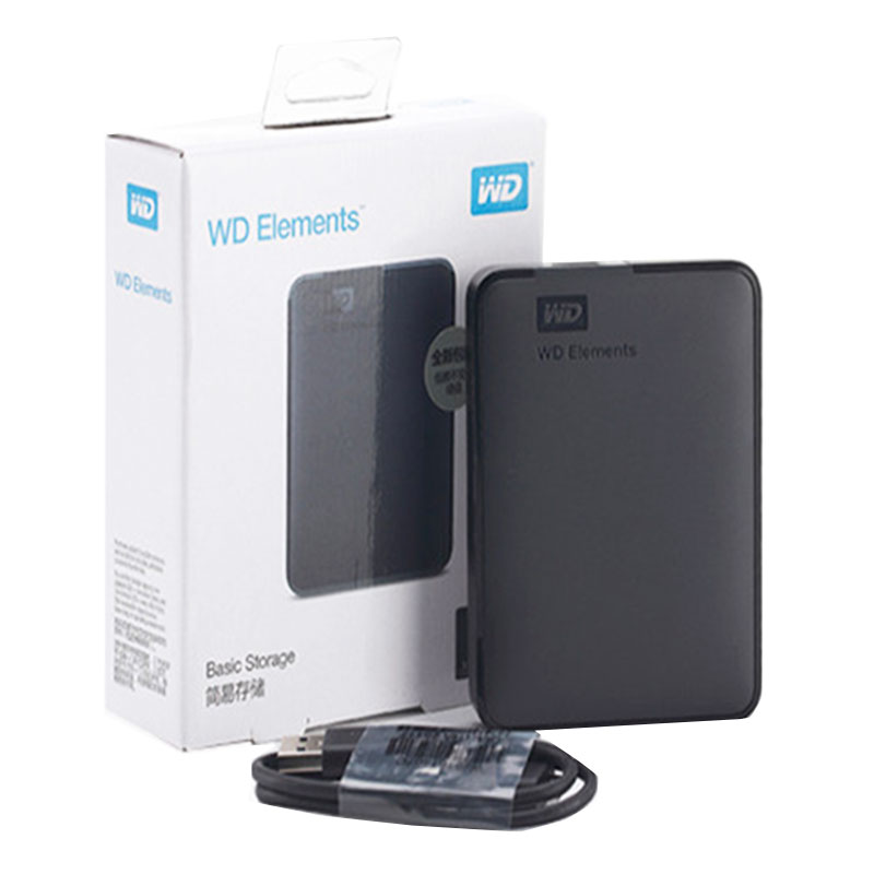 WD HDD 2.5 500GB 1TB 2TB 4TB 5TB Portable External Hard Drive External Hard Disk HD 2.5 USB Disco Duro Externo/Disque Dur 1TO 2T