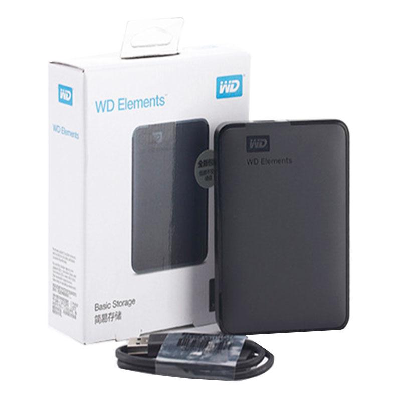 WD HDD 2.5 500GB 1TB 2TB 4TB 5TB Portable External Hard Drive External Hard Disk HD 2.5 USB Disco Duro Externo/Disque Dur 1TO 2T