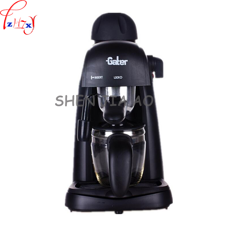 Commercial/Household Semi-automatic Italian Coffee Maker Vessel Coffee Maker Homemade Cappuccino 220V 800W 1pc sandra lee semi–homemade® gatherings