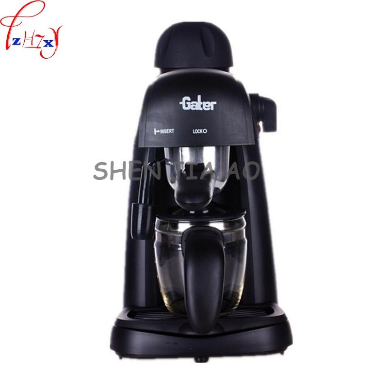 Commercial/Household Semi automatic Italian Coffee Maker Vessel Coffee Maker Homemade Cappuccino 220V 800W 1pc