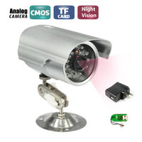 CCTV Bullet Outdoor Waterproof Camera 700TVL IR CUT NightVision Surveillance Security Camera Camera Bracket Support SD