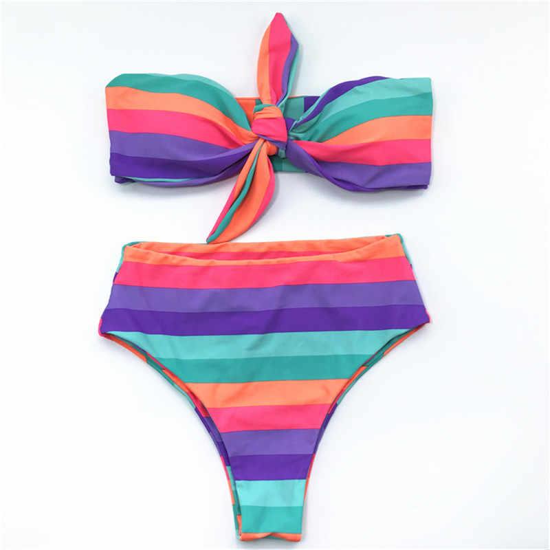 Cikini 201 גבוהה מותן בגד ים חדש סקסי הדפסת ביקיני נשים לדחוף את בגד לשחות קיץ החוף ברזילאי ביקיני