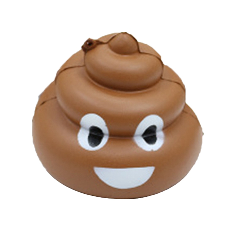 Smile Emoji Slow Rebound Cute Colored Doll Poop/poo Design Emotion Happy Heart Eye Face Toy