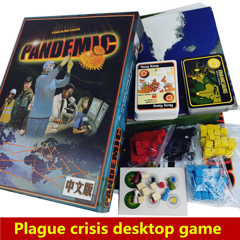 Pandemic Board Game Paper Cards Strategic Reasoning Plague Funny Party indoor table Game For Family 2017 new high quality secret board game for family friends fun cards games