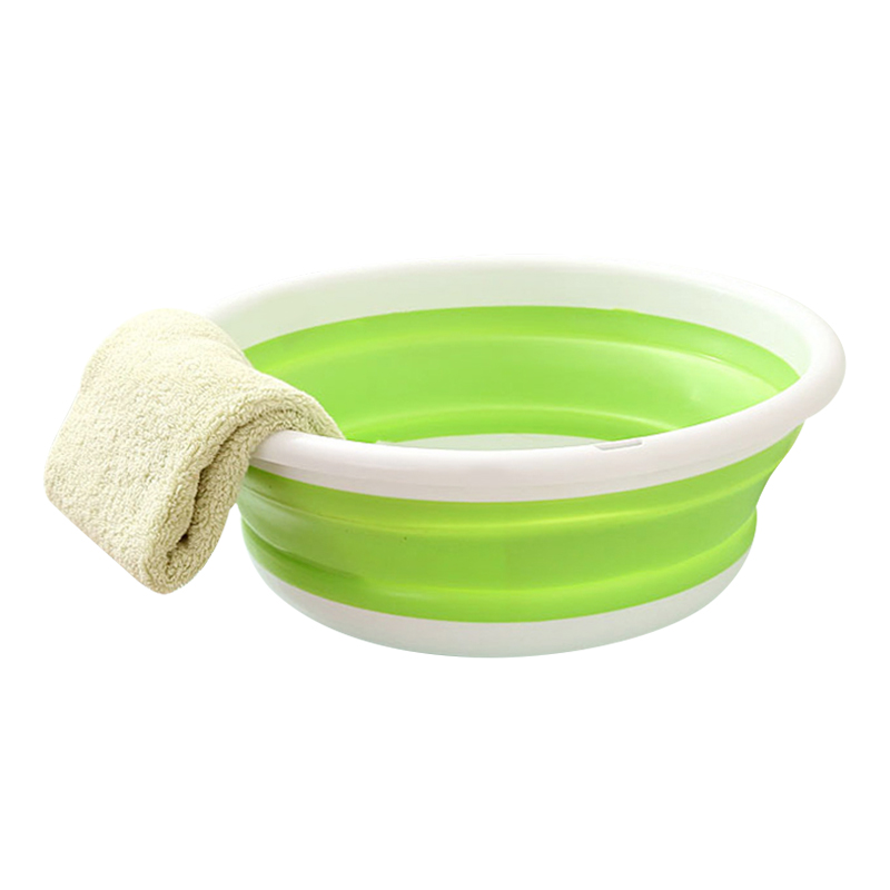 Collapsible Portable Basins Outdoor Camping Hiking Fishing Washbasin Household Cleaning Tools Accessories Supplies Stuff Product