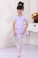 High Quality And Cotton Lycra Princess Dress New Girl Party Dancing Leotard Ballet Tutu Dress Size
