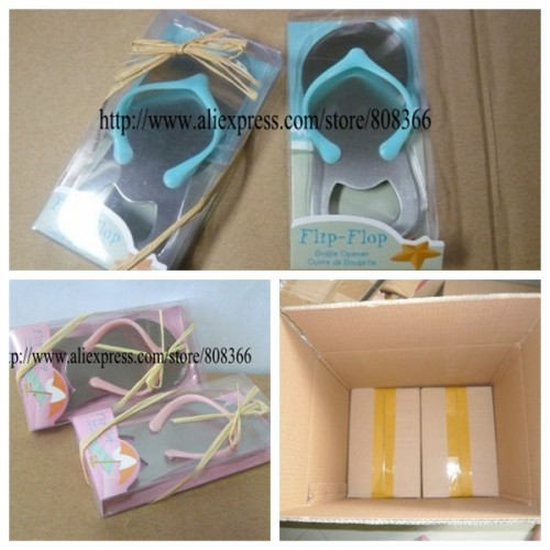 d170bc493fe8 20pcs lot Unique Wedding Ideas of Flip Flop Bottle Opener Wedding gift for Beach  wedding