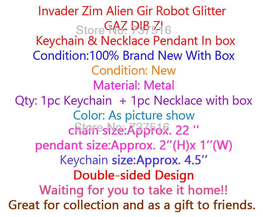 Alien Invader Zim Gir animal Robot DOG Plush toy kid BAG 1-X Backpack green soft