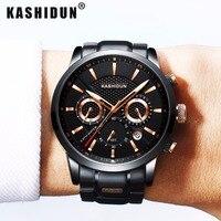 KASHIDUN Luxury Brand Mens Sports Watches Waterproof Military Watch Men Fashion Casual Japanese Quartz Wristwatches Hot