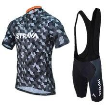 2018 STRAVA Pro Bicycle Team Short Sleeve Maillot Ciclismo Men s Cycling  Jersey Kits Summer breathable Cycling fb3bb7491