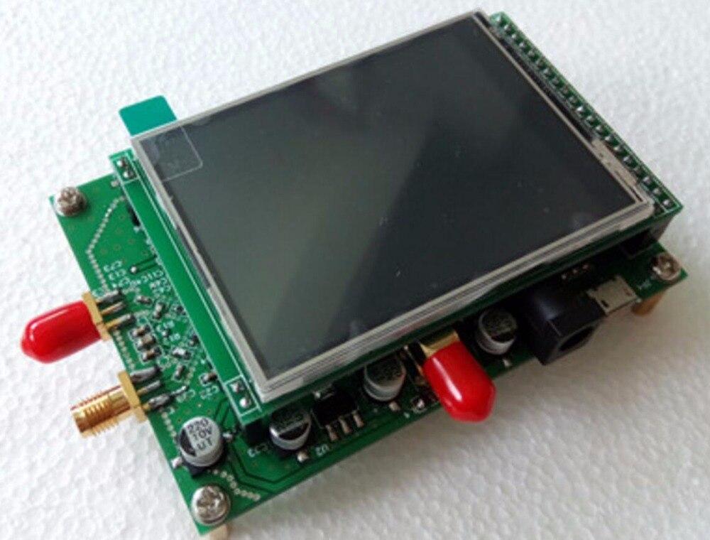 bilder für ADF4355 250 Mt-6,8G farbe touchscreen modul sweep frequenz signalquelle VCO mikrowelle pll-frequenzsynthesizer PLL