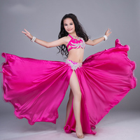 Kids Girls Belly Dance Costumes Sexy Clothes Indian Oriental Dance Costumes Long Skirt Children's Performance Clothes DN1609