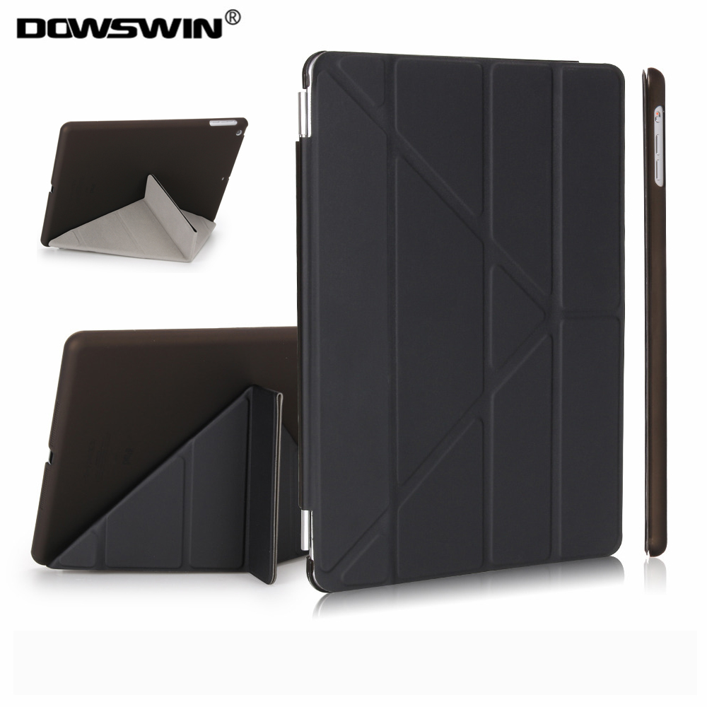 for ipad air case , DOWSWIN PU leather smart case for ipad air cover with pc hard back stand/flip case for ipad air 1 cases nice soft silicone back magnetic smart pu leather case for apple 2017 ipad air 1 cover new slim thin flip tpu protective case