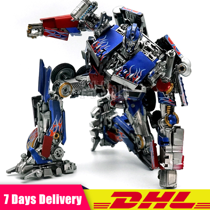 IN Stock 25 CM DHL Transformation OP Commander LT02 MPM04 Mpm-04 Movie 5 KO Collection Action Figure Robot Toys 2018 new 23 cm unique toys ut r 01 peru kill transformation movie 4 lock down action figure collection toys kids gift