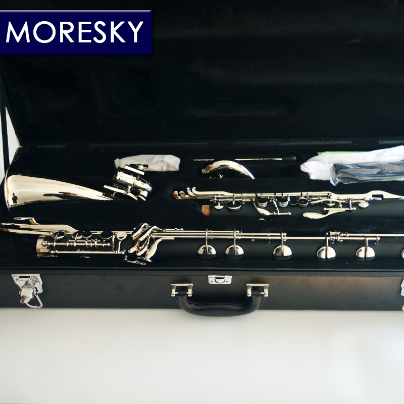 MORESKY clarinette basse clarinette professionnelle Lowc/LOWE air tombant B - 3