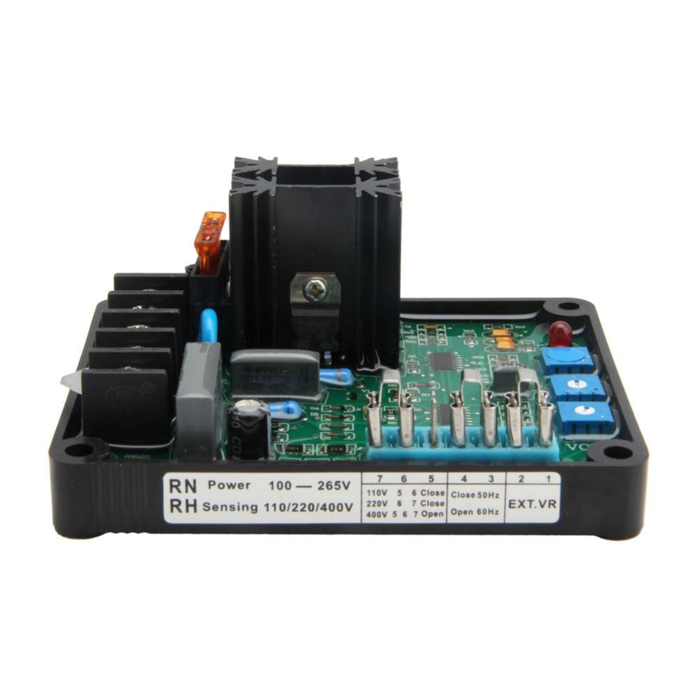 Automatic Voltage Regulator Module GAVR-8A Universal AVR Generator dhg generator gavr 15a universal brushless generator avr 15a voltage stabilizer automatic voltage regulator module fast shipping
