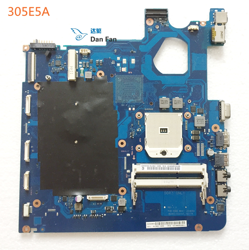 BA92-09477A BiNFUL For SAMSUNG NP305E5A 305E5A Laptop Motherboard BA41-01822A Scala3_15/17A Mainboard 100%tested fully work image