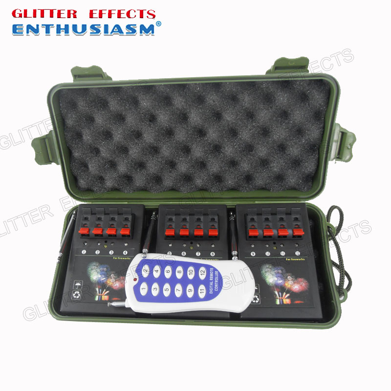 AM04R-3 Remote control 12 channel 3pcs 4 cue receiver fire party machineAM04R-3 Remote control 12 channel 3pcs 4 cue receiver fire party machine
