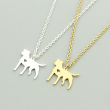 Pitbull Necklace For Men and Womens Jewelry Stainless Steel
