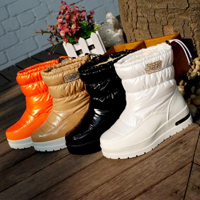 Winter Children Shoes Fashion Winter Girls Boots Waterproof Snow Boots Warm Cotton Boots Girls Shoes Kids winter