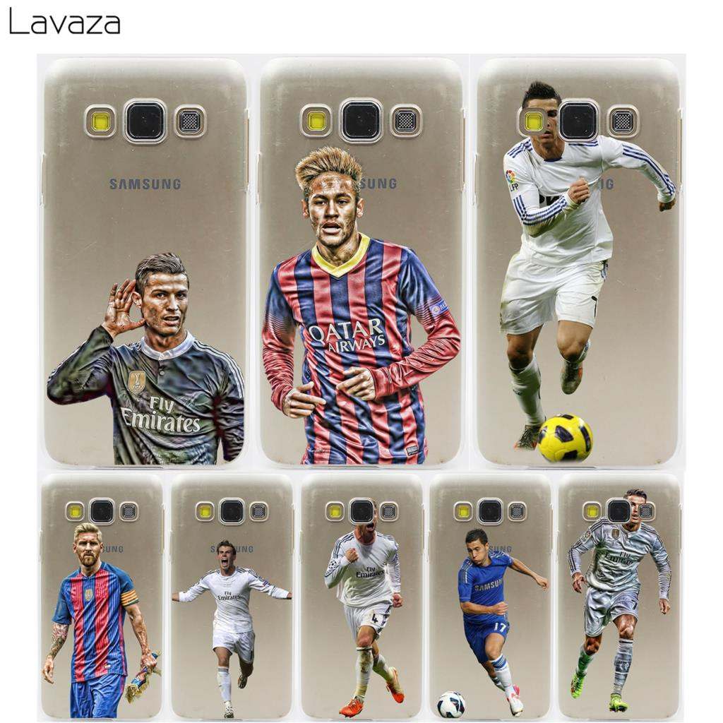 Lavaza Ronaldo Neymar Messi Bale Case for Samsung Galaxy A3 A5 A7 A8 2018 2017 2016 2015 Plus Note 2 3 4 5 8 Grand 2 Prime
