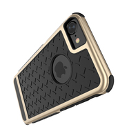 FLOVEME Case For Apple IPhone SE 5S 4 0 Hard PC Soft Rubber Silicon Paladin Series