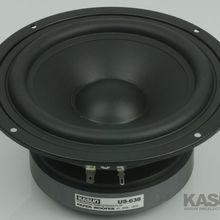 Woofer-Speaker KASUN US-638 1PCS Max-Diameter Pp-Cone-Unit 178mm 39hz Fs 8ohm/130w