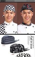 1 peça padeiros Cap chapéu Do Cozinheiro Chefe Fogão restaurante garçonete cozinha chapéu de food service