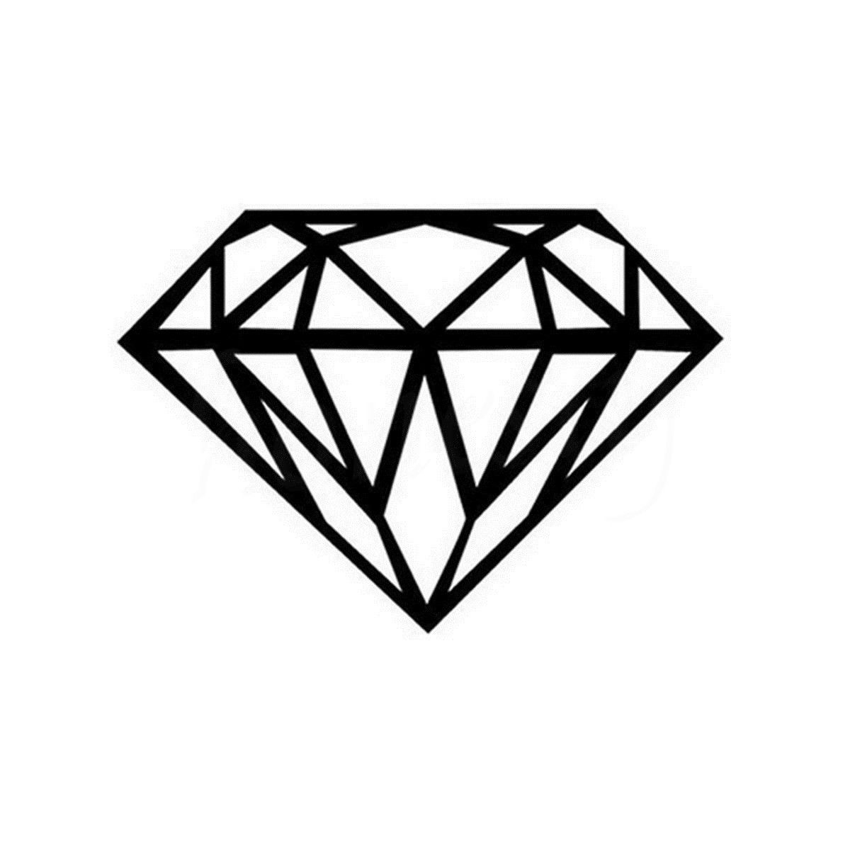 Diamond Wall Home Door Window Glass Car Sticker Laptop