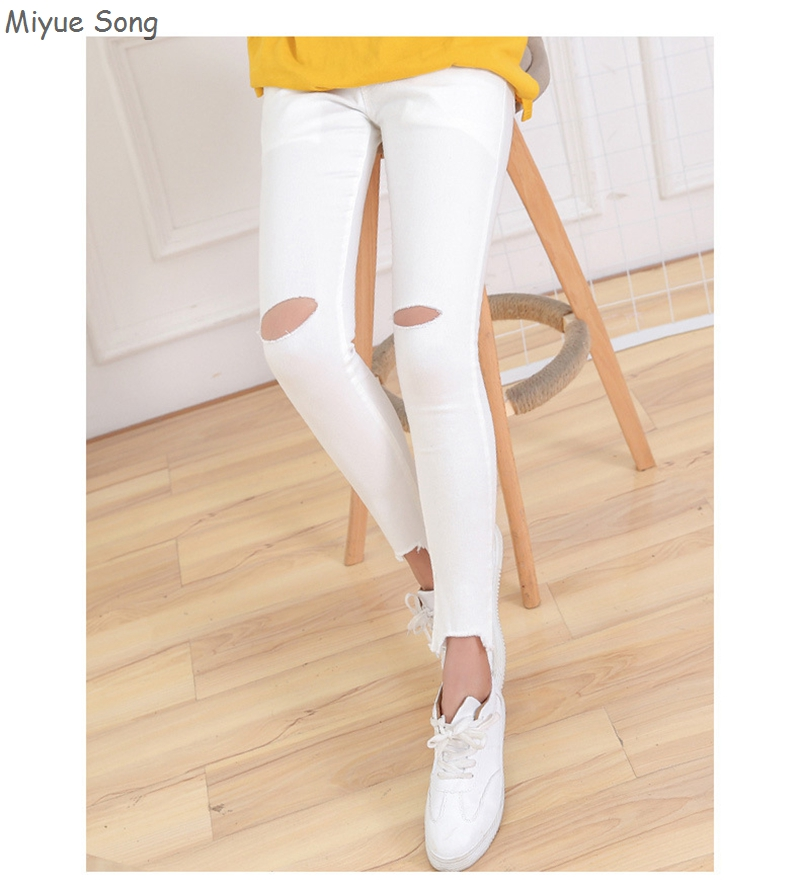 Maternity Pants For Pregnant Women Pencil Jeans 2018 Spring Summer Belly Legging Pregnancy Trousers Overalls Clothes White black maternity pants for pregnant women pencil jeans 2018 spring summer belly legging pregnancy trousers overalls clothes white black