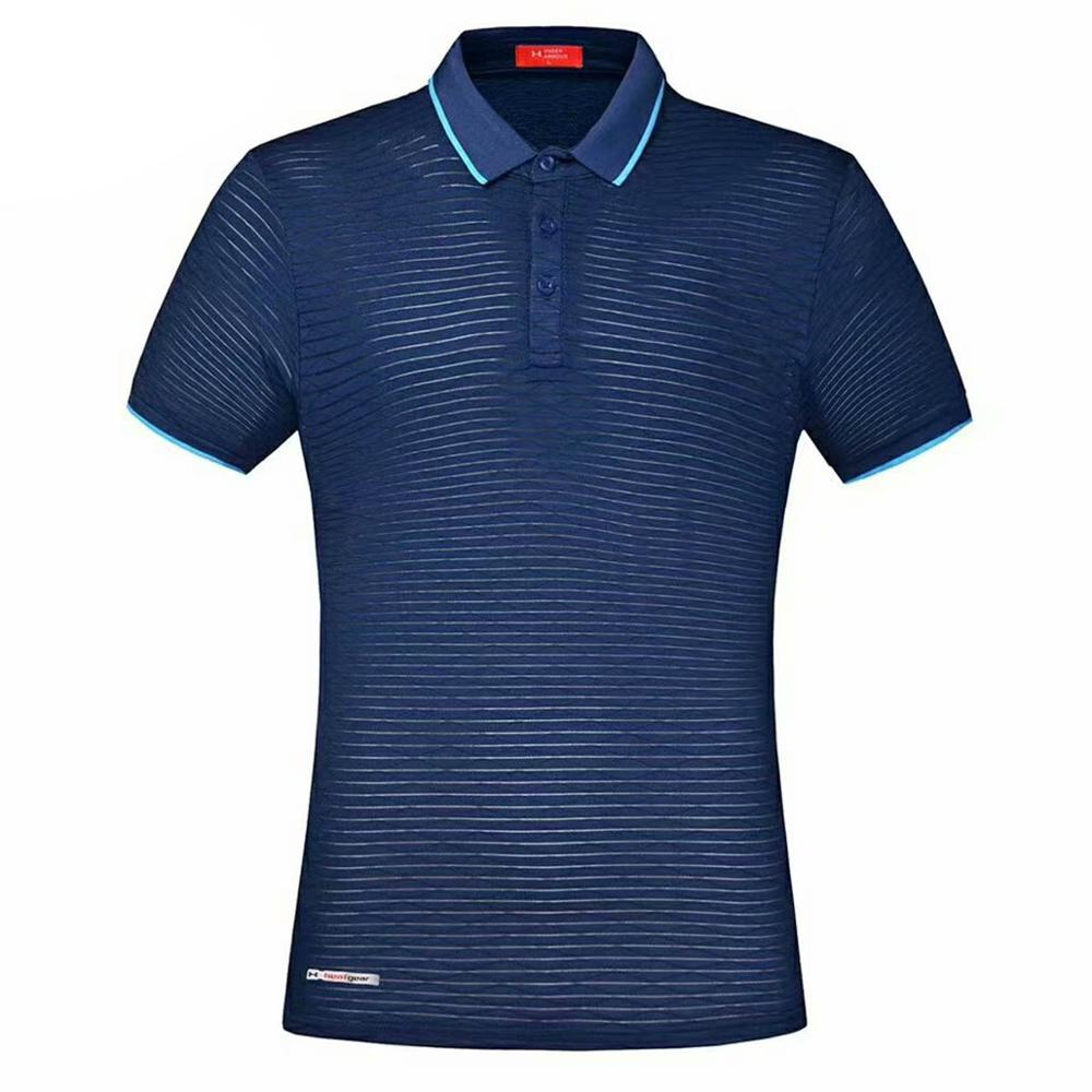 T-Shirt Fashion Jersey Sports Short-Sleeved Cotton Summer Cool And Men Knit Leisure Men's