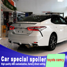 New design For toyota Camry 2018 high quality and hardness ABS material spoiler by primer or DIY color paint camry spoilers 0 02x100mm c17200 beryllium bronze with beryllium copper alloy thin copper foil beryllium bronze sheet hrc45 high strength