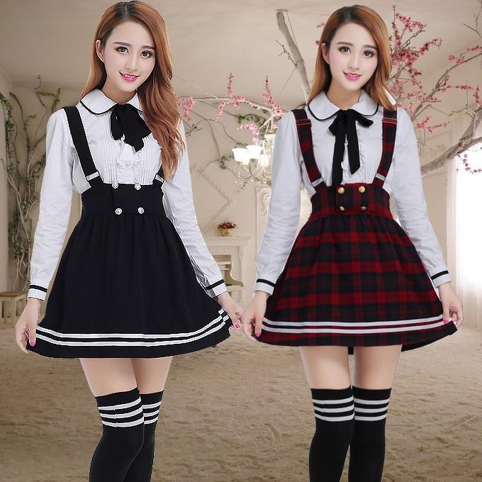 Long Sleeve Japanese School Uniform For Girls Students
