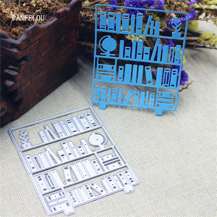 PANFELOU EASTER A bookcase Scrapbooking DIY album cards paper die metal craft stencils punch cuts dies cutting