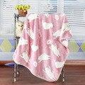 1 Pc Macio Cobertores Do Bebê de Flanela De Lã Cobertor Da Cama de Inverno Engrossar Envelope Carrinho De Bebe Infantil Swaddle Envoltório